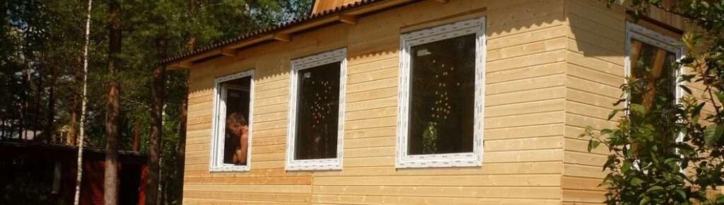 Окна в каркасный дом